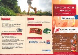 Plakat Motor Nützel Fun Lauf