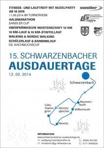 Plakat Schwarzenbacher Ausdauertage